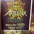 Other Collectable - Signed Metal Alliance Tour 2013 poster