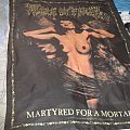 Cradle of Filth - Martyred For A Mortal Sin flag