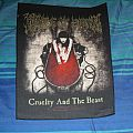 Cradle of Filth - Cruelty and the Beast backpatch