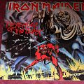 Iron Maiden - The Number of the Beast LP 1st press