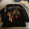 Cradle of Filth - The Rape and Ruin of Europe 97 tour longsleeve Dynamo edition
