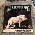Destroyer 666 - Unchain the Wolves blue LP first press