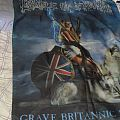 Cradle of Filth - Grave Britannic Majesty flag