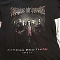 Cradle of Filth - Cryptoriana North American Tourture 2019 shirt