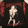 Cradle of Filth - A Plague of Sexual Darkness tour 1995 longsleeve