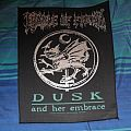 Cradle of Filth - Dusk and Her Embrace backpatch