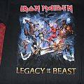 Iron Maiden - Legacy of the Beast shirt
