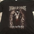 Cradle of Filth - Milking Australia and New Zealand tour shirt