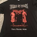 Cradle of Filth - Lustmord and Tourgasm shirt