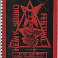 UFO - Other Collectable - Heavy Sound Festival schedule 1985