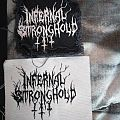 Infernal Stronghold official logo patches