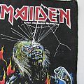 Iron maiden - Live after death vintage backpatch