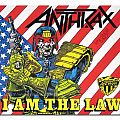 Patch - Anthrax - I am the law for Razmachine