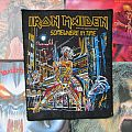 Iron Maiden - Patch - Iron Maiden - Somewhere In Time Official Backpatch