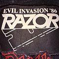 Razor - Evil Invasion tour patch