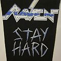 Raven - Stay Hard backpatch
