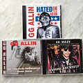 Other Collectable - My GG Allin merchandise
