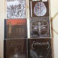 CDs/tapes/dvd/MCDs from Dutch Black Metal label Zwaertgevegt