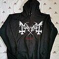 Mayhem - Hooded Top - Mayhem de mysteriis dom sathanas zip hood