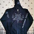 Dark Funeral - Hooded Top - Dark Funeral where shadows forever reign zip hood
