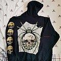 Metallica - Hooded Top - Metallica Spider Skull Zip Hoodie