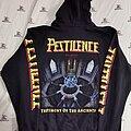 Pestilence - Hooded Top - Pestilence - Testimony Of The Ancient Zip Hood