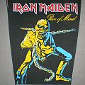 Iron Maiden 'piece of mind' bootleg back patch