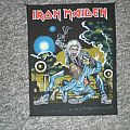 iron maiden ´no prayer on the road` back patch