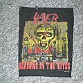 slayer ´seasons in the abyss` back patch