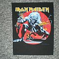 Iron Maiden ´a real live one` back patch