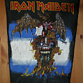 iron maiden ´the evil that man do` back patch