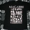 MACABRE 'murderous music' tour shirt 2009