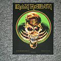 Iron Maiden ´live at donington` back patch