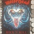 """MOTÖRHEAD """"Rock 'n' Roll""""  Back Patch"""