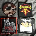 Nocturnal Graves - Patch - Nocturnal Graves, Ketzer, Deathammer, Witching Hour Patches