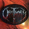 Obituary Logo Patch