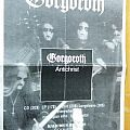Gorgoroth Antichrist poster Other Collectable