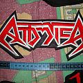 Patch - Attomica Backshape Patch (Embroidered @Machete Patches)