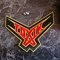 Toxik - Patch - Toxik (Think this, logo) Patch (Embroidered @Machete Patches)