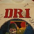 TShirt or Longsleeve - D.R.I. T-shirt (Suit and the tie guy) w/sign of members