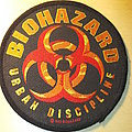 Biohazard - Urban Discipline Patch
