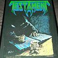 Testament - Dead man's fate Back Patch