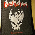 Destruction - Skull Logo Patch
