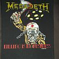 Megadeth - Killing is my Business...and business is Good Back Patch