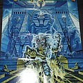 Iron Maiden - Somewhere back in Time World Tour 08 Poster