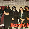 Mercyful Fate - Other Collectable - Mercyful Fate - Group Photo Poster from Metal Hammer