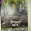 Obituary - Other Collectable - Obituary - World Demise Tour 94 Poster