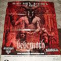 Behemoth - Zos Kia Cultus promotional Poster