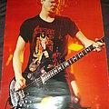 Metallica - Jason Newstead Black Album era Poster