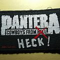 Pantera - Cowboys from Heck Patch